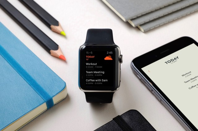 Moleskine TimePage - Apple Watch