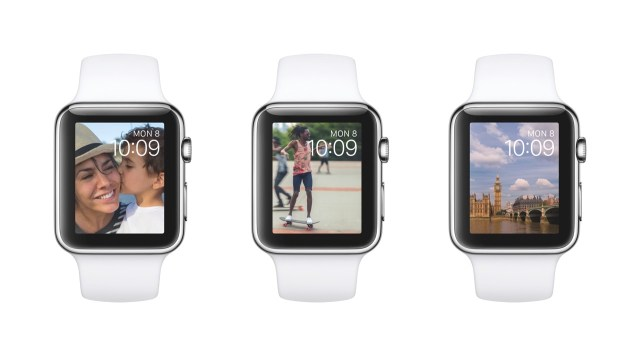 Apple Watch 文字盤に写真