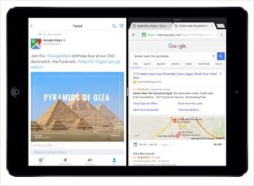 Chrome for iPAd Split View