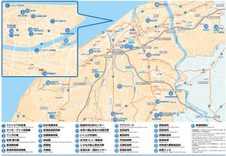 Niigata City Wi-Fi 利用可能エリア