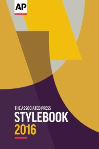 AP Stylebook 2016