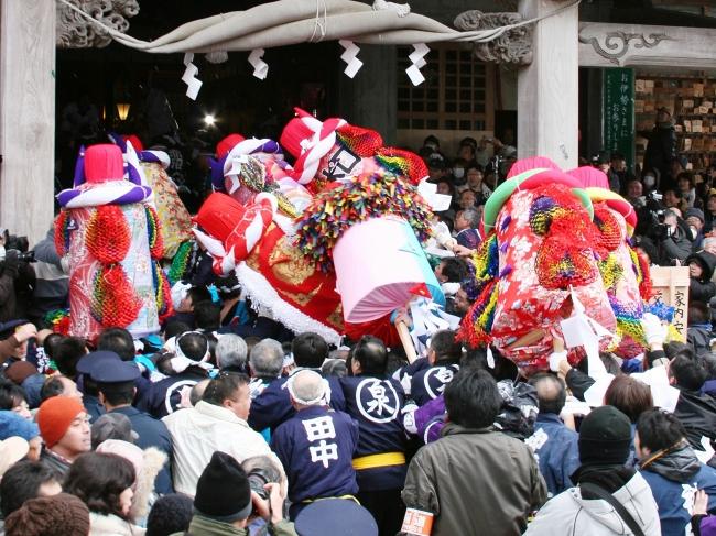 秋田市三吉梵天祭