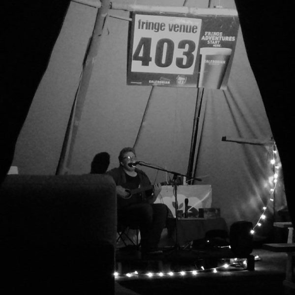Cotswold Tipis Acoustic Performance Edinburgh Fringe Festival
