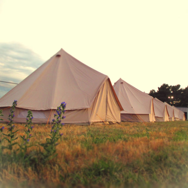 Cotswold Tipis Bell tents at Le Mans 2017 private event