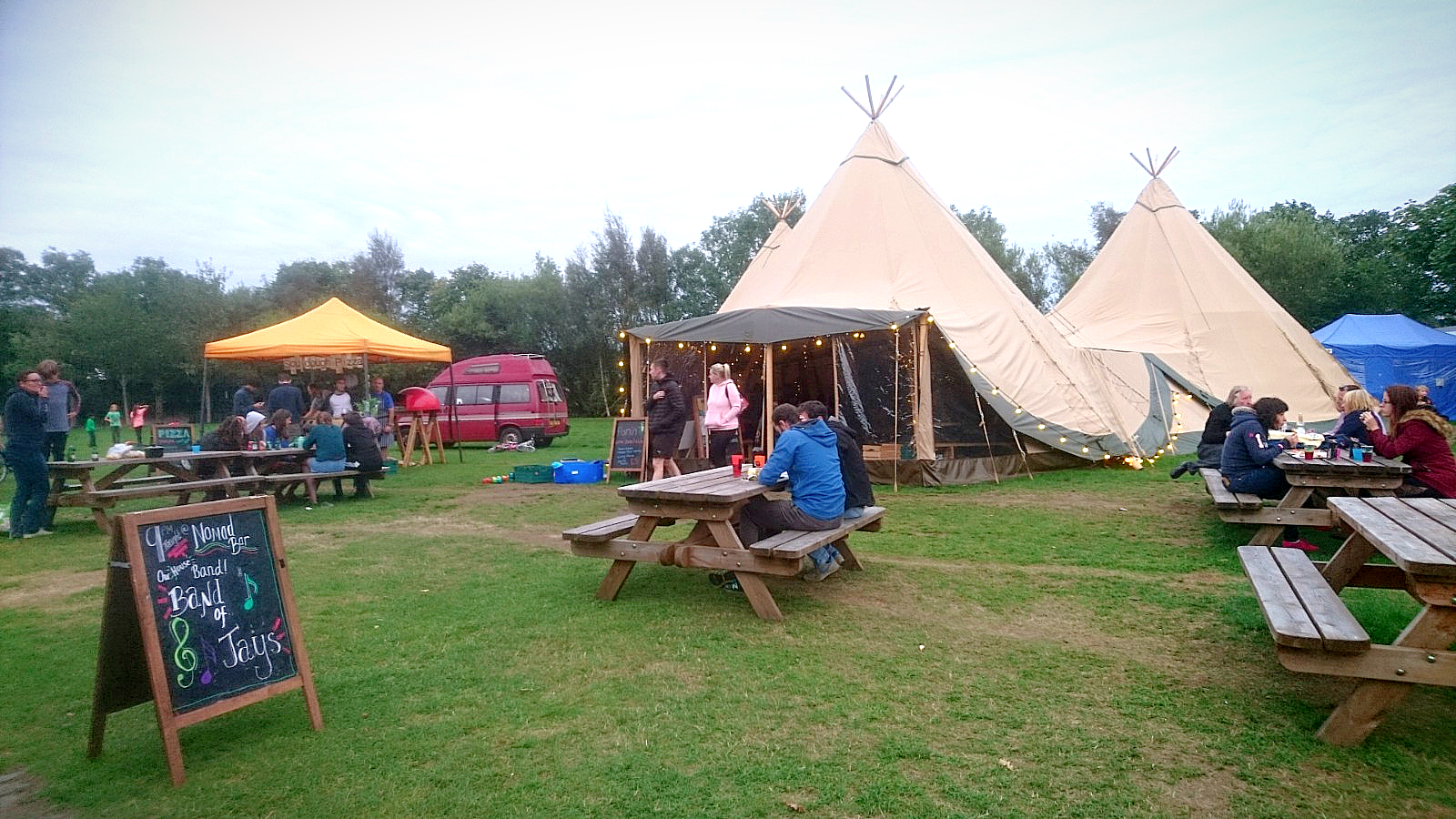 Cotswold Tipis at Edinburgh Festival Camping 2018