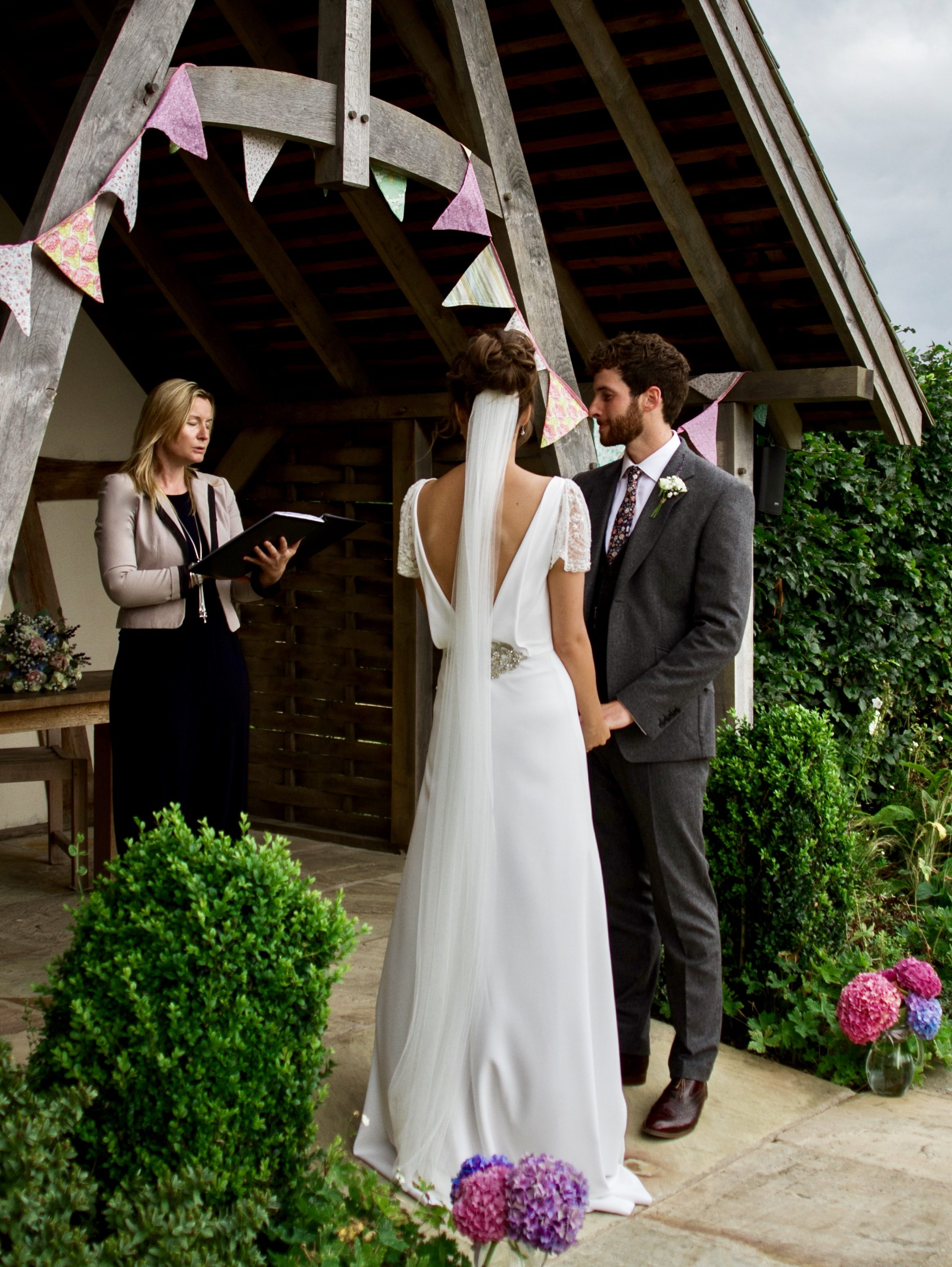 Jessica of Pomp & Ceremonies - Cotswold Tipis Open Day 2019