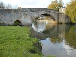 Halfpenny Bridge at Lechlade close to Downington