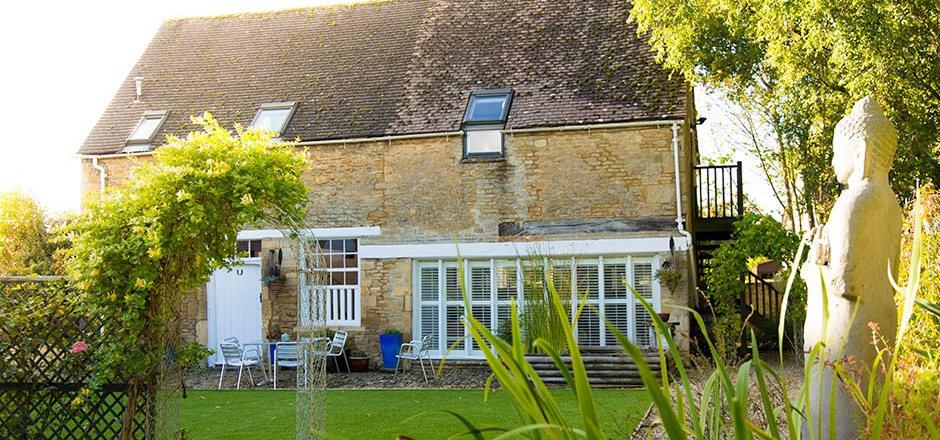 The Barn, Downington, Lechlade holiday cottage