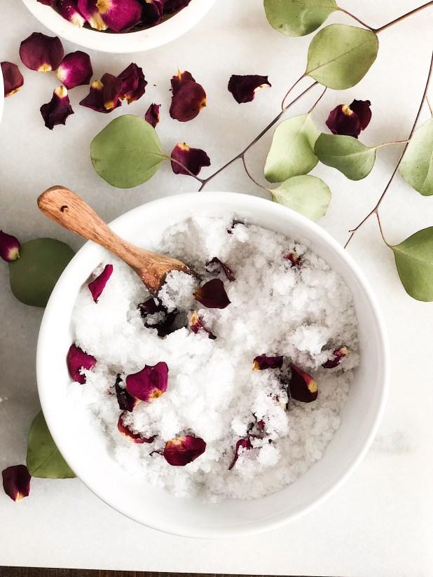 bath salt soak