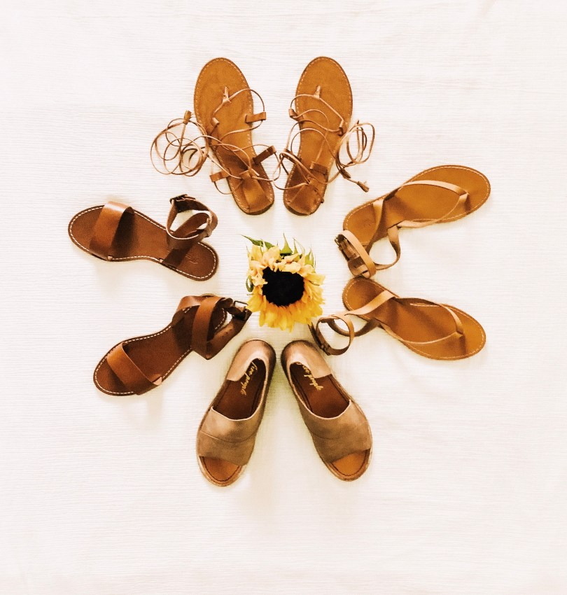 tan shoes for summer