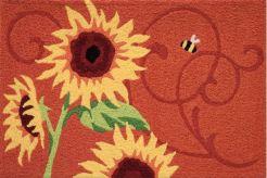 jellbybean rug sunflower solstice design