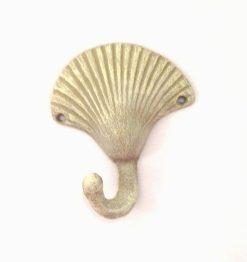 cast iron seashell wall hook