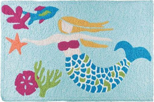 lets be mermaids jellybean rug