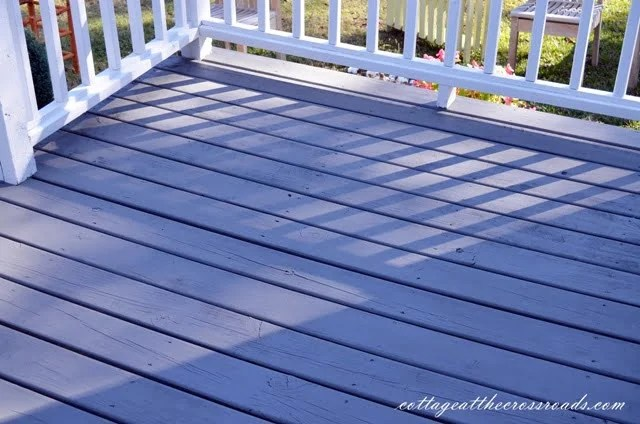 White Wood Stain Porch