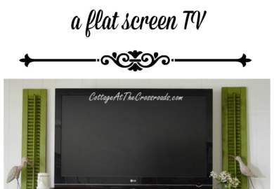 How To Decorate Around A Flat Screen Tv