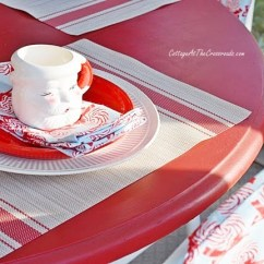 Christmas Folding Chair Covers Careco Recliner Chairs How To Make Cottage At The Crossroads