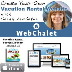 Create Your Own Vacation Rental Website With Sarah