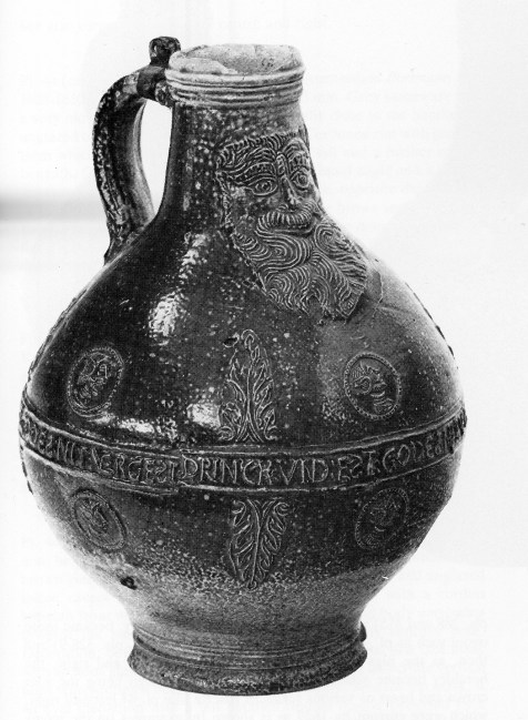 Photo credit : Odense Bys Museer via Foter.com / CC BY-SAComplete Bartmann Jug with leaf motive Original image URL: https://www.flickr.com/photos/odensebysmuseer/4586541948/