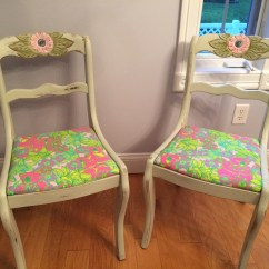 Lilly Pulitzer Chair Dinning Seat Covers The Dynamic Duo  Big Squeeze Vintage