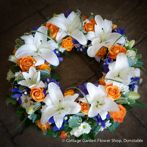 Rose & Lily Wreath