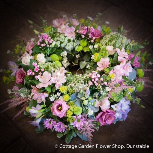 Cottage Garden Wreath