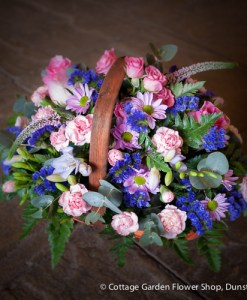 Pink & Blue Basket