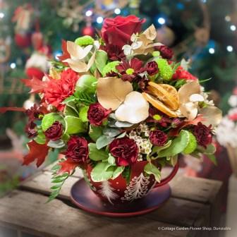 Christmas Teacup
