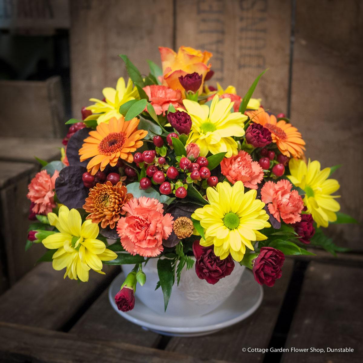 Autumnal Teacup