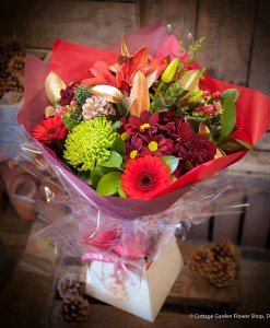 Festive Hand Tied