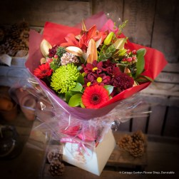 Christmas Cracker Hand Tied