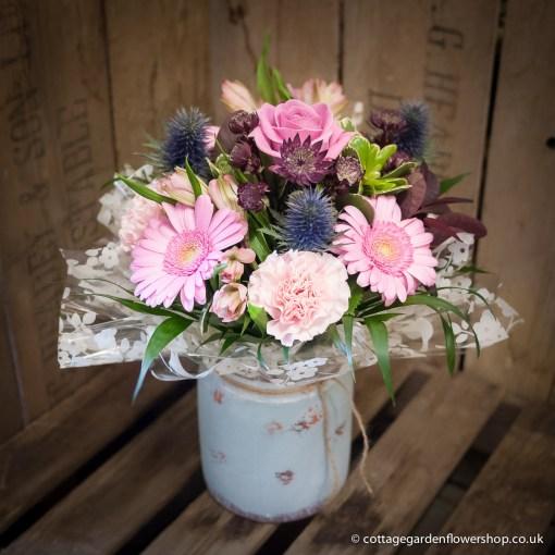 Summer Pinks Vase