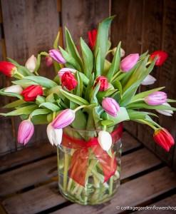Valentine's Tulip Vase