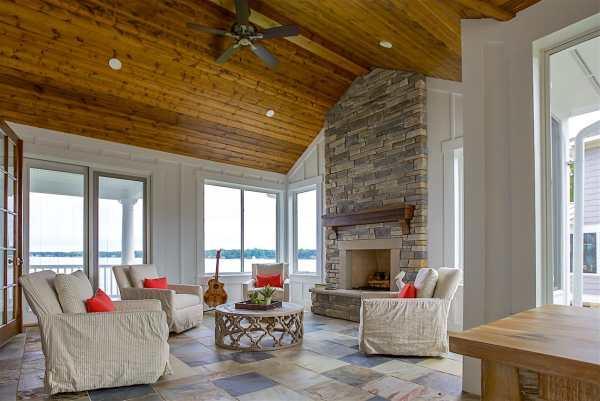 Beach House Interior Finishes Lake Michigan Custom