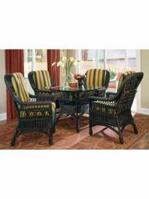 Savannah Wicker Dining Table Base Cottage Home