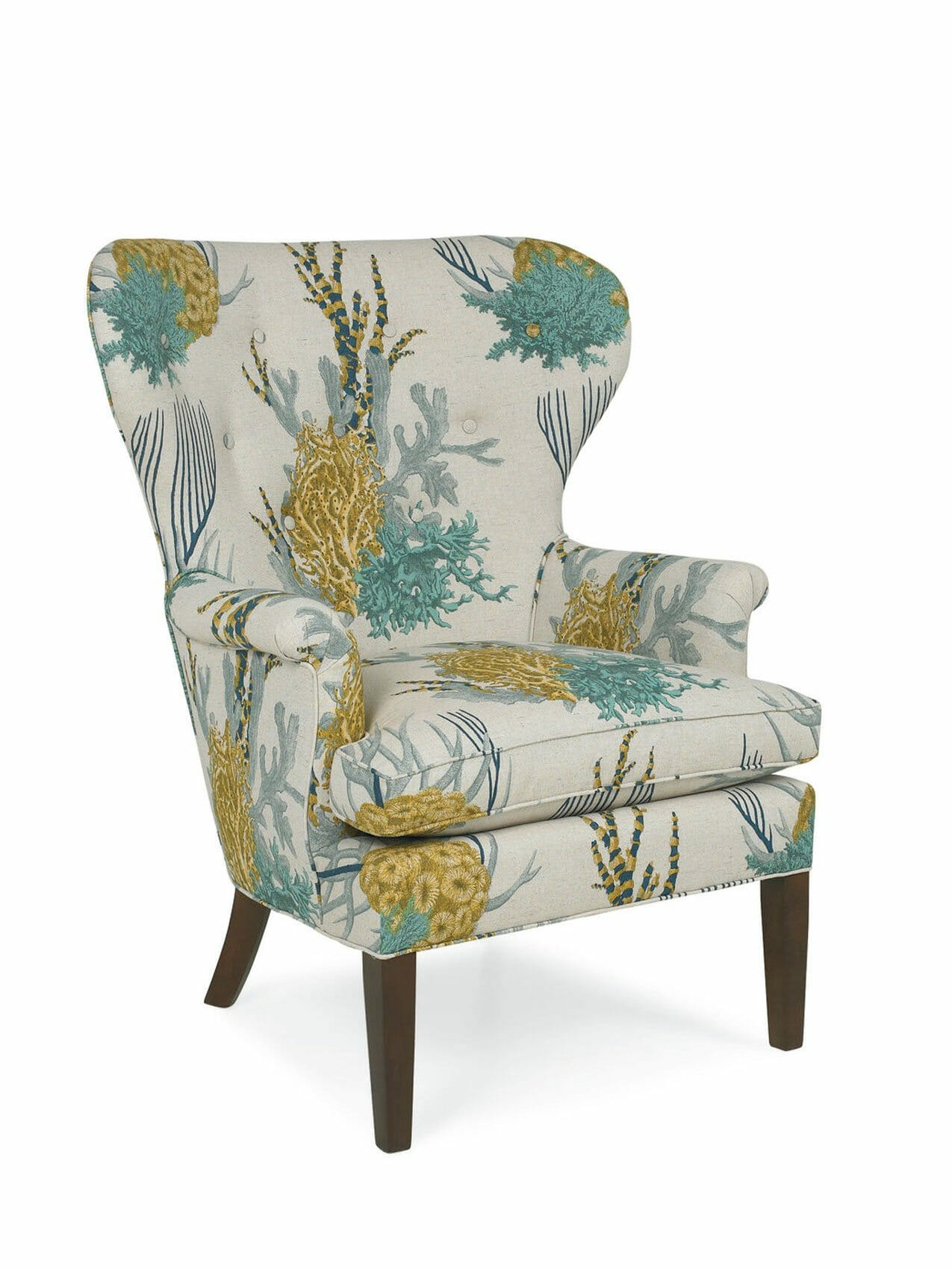 Upholstered Accent Chairs With Arms Avalon Upholstered Accent Chair Cottage Home