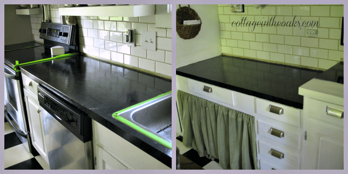 DIY Carrera Marble Painted Kitchen Counters Cottage In The Oaks
