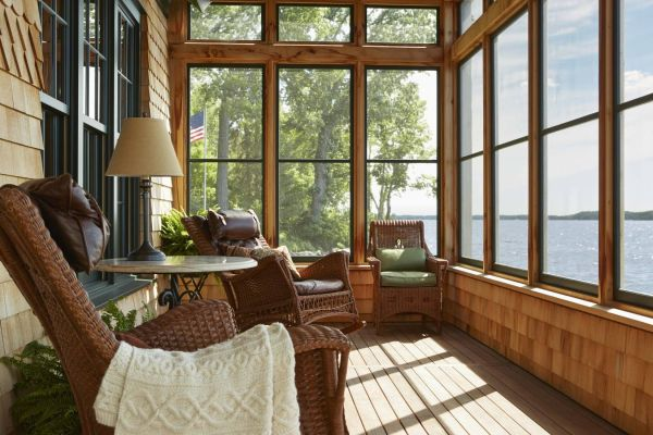 Boathouse Turned Charming Cabin