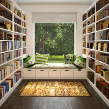 Cozy Home Libraries Make Book Lovers Drool