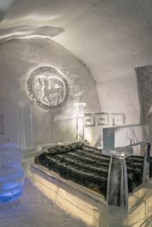Quebec City Ice Hotel Catches Fire Cottage Life