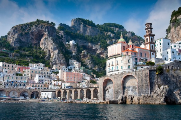 Amalfi Coast from the sea