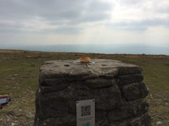 A lonely Yorkshire pudding on Ingleborough.