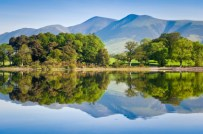 Derwentwater in the Lakes