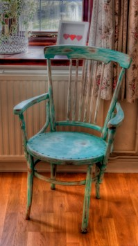 Captains Chair finally finished | Cottage Shabby Chic