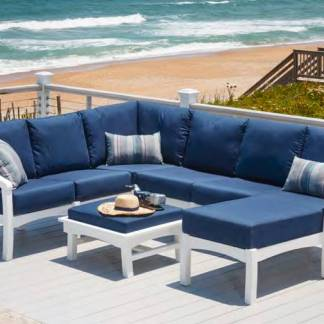 Recycled Plastic Bay Breeze Deep Seating Collection