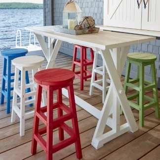 Recycled Plastic Dining & Pub Furniture