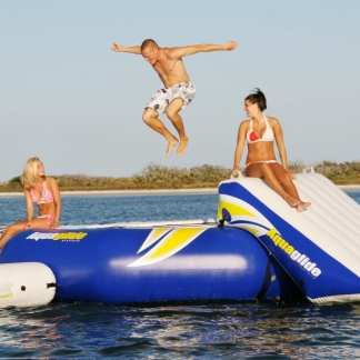Water Trampolines, Slides & Playground