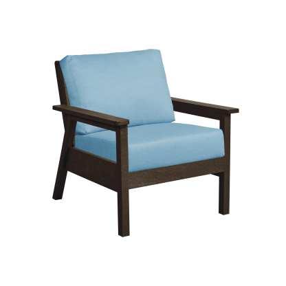 Recycled Plastic Tofino Arm Chair Cast Horizon
