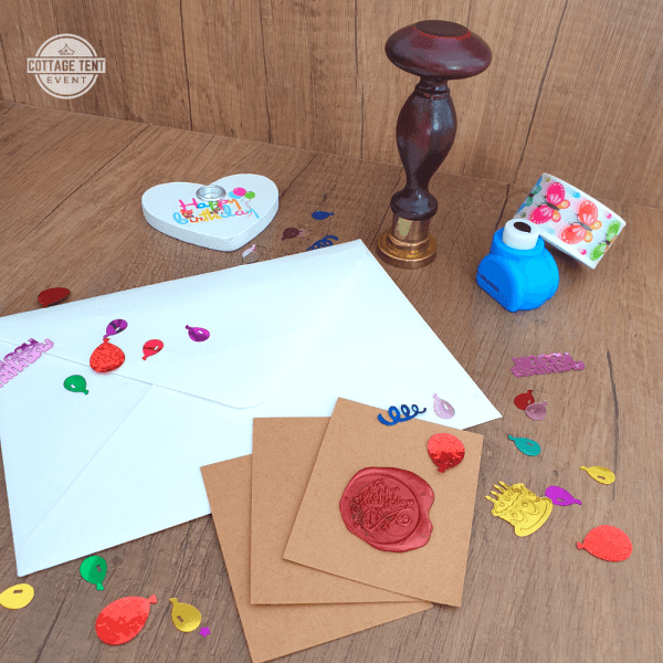 Wax Seal - happy birthday set