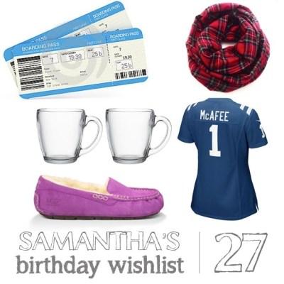A Birthday Wishlist   oh hey, friday