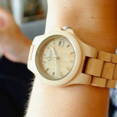 Fashionably Adulting | JORD Wood Watch
